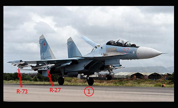 """มันน่าสงสัยเครื่องบินรุ่นไหนคุ้มกัน """"ปูติน"""" ขณะบินเหนือซีเรีย -- Su-35 หรือ Su-30SM?"""