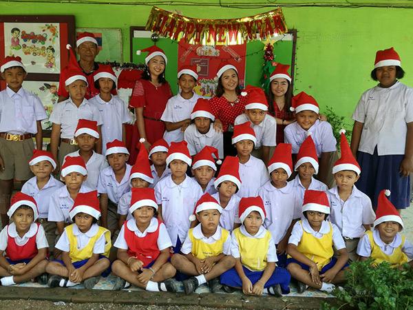 ครั้งแรกที่ ร.ร.ชายขอบในพัทลุง จัดกิจกรรมวันคริสต์มาส สร้างบรรยากาศสุดสนุกให้แก่เด็ก
