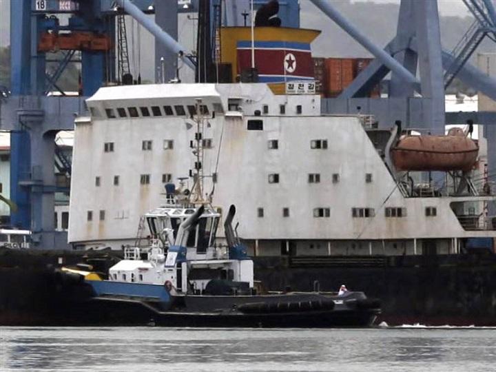 """UN ขึ้นบัญชีดำ """"เรือโสมแดง"""" อีก 4 ลำ ห้ามจอดเทียบท่าเรือทั่วโลก"""