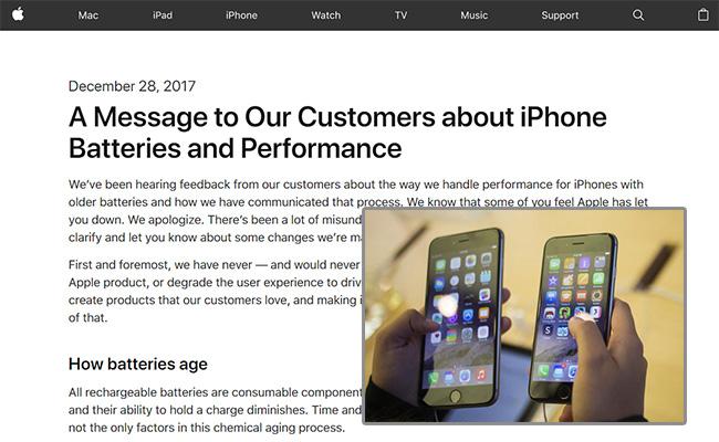 ชาวไอโฟนว่าไง? แอปเปิล เสนอลดราคาค่าเปลี่ยนแบตฯ เหลือ 1,000 บาท ชดเชยปัญหาตั้งโปรแกรมให้รุ่นเก่าทำงานช้าลง