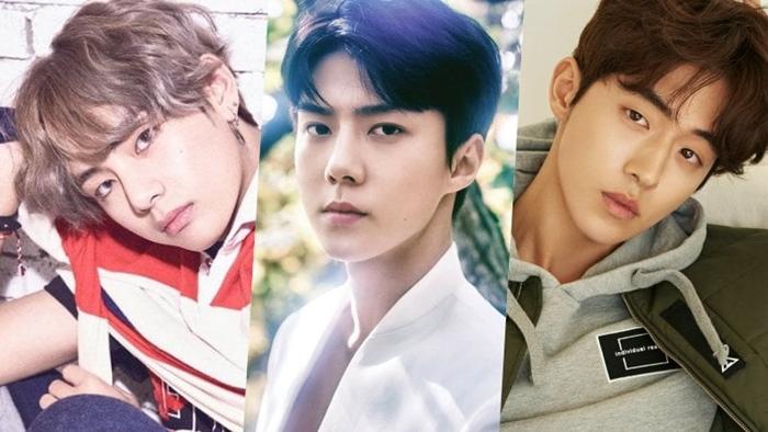 """""""วี BTS"""" ขึ้นแท่นหนุ่มหล่อที่สุดในโลกด้านไอดอลเกาหลีติดเพียบรวม """"จงฮยอน SHINee"""" ส่วนพระเอกไทยมีรายชื่อด้วย"""