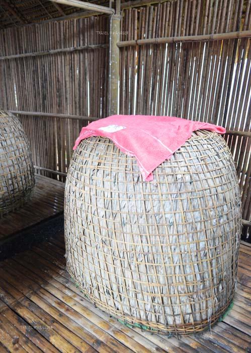 สปาสุ่มไก่ ที่บ้านช้างทูน จ.ตราด