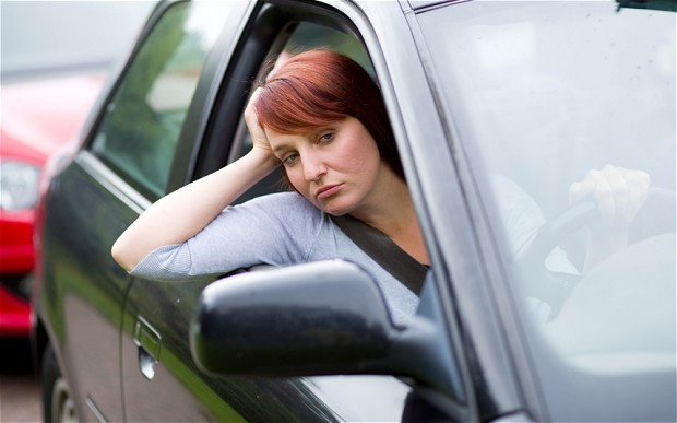 """3 วิธีคลายเครียด """"รถติด"""" ช่วงปีใหม่"""