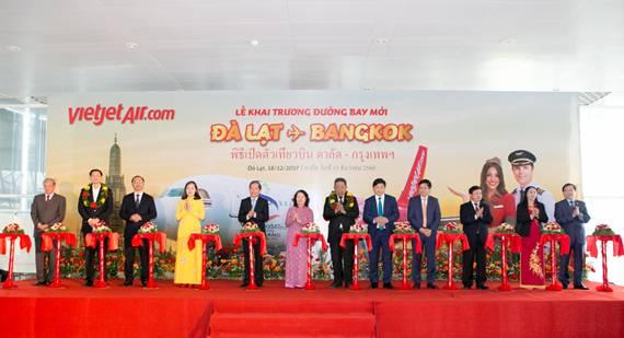 ไทยเวียตเจ็ทเปิดเส้นทางใหม่ กรุงเทพฯ-ดาลัด เมืองดอกไม้งามแห่งเวียดนาม