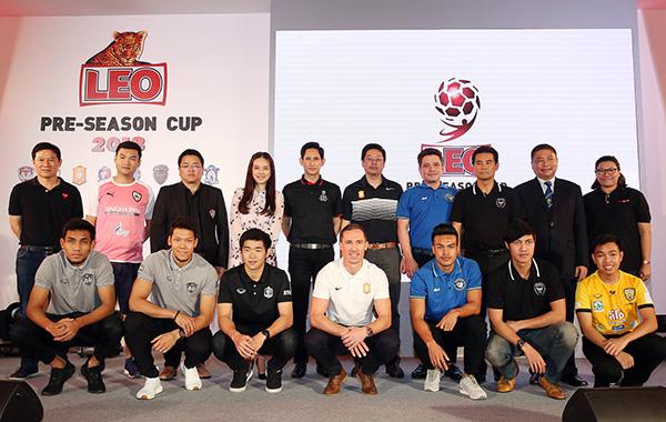 """ดวลสนั่น """"ลีโอ ปรีซีซั่น คัพ"""" ชิง 2 ล้านบาท 8 ทีมชั้นนำเมืองไทยร่วมโม่แข้ง"""