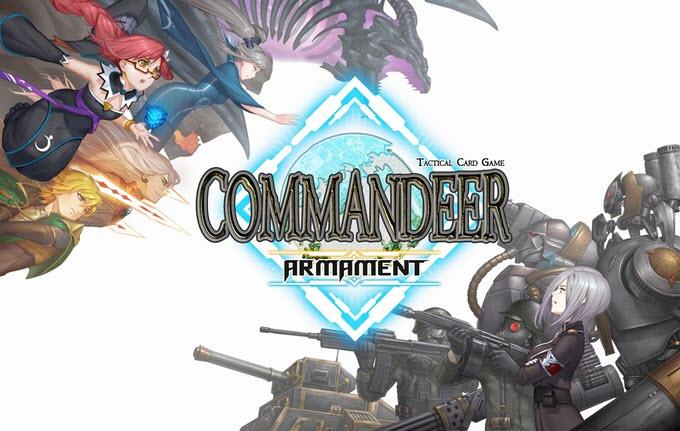 """""""Commandeer"""" เกมการ์ดสัญชาติไทยเตรียมเปิดให้เล่นบนพีซี!"""
