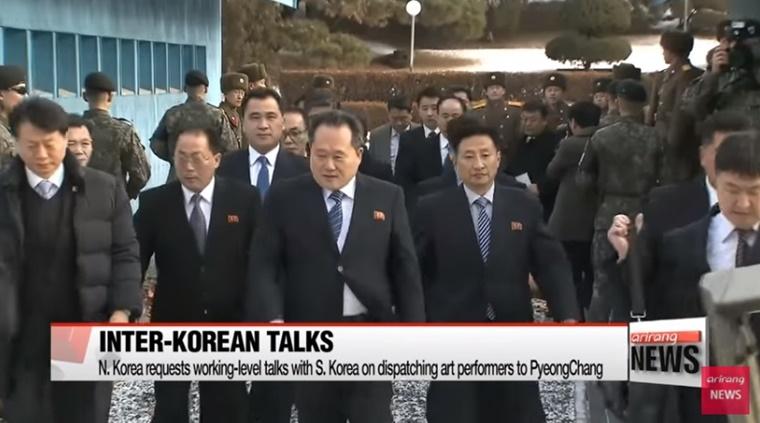 """In Clip : ชื่นมื่น!! """"เปียงยาง"""" ตกลงคุยกับโซลระดับปฎิบัติงานในฝั่งเกาหลีเหนือวันพรุ่งนี้"""