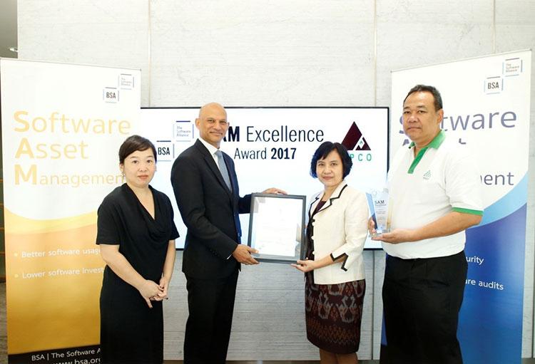 ทิปโก้แอสฟัลท์ รับรางวัล SAM Excellence Award 2017
