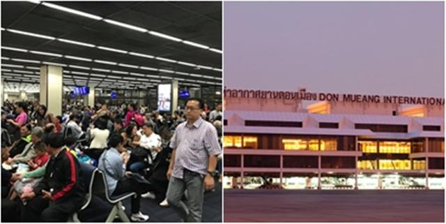 """""""สุหฤท"""" โพสต์ภาพระหว่างรอขึ้นเครื่อง บอก """"ขยายสนามบินในกรุงเทพได้แล้ว"""""""