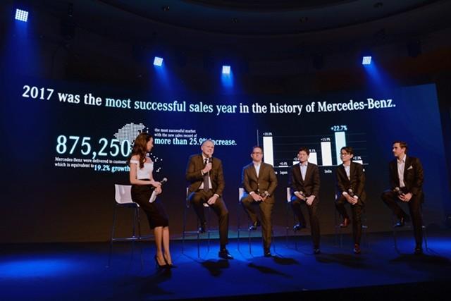 ไมเคิล เกรเว่ (ที่2จากซ้าย) เผยแผนเดินหน้าผลิตรถยนต์ไฟฟ้าในไทย