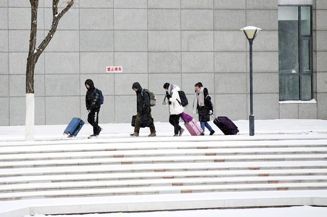 มหาวิทยาลัยหนันไค ตอนเหนือของนครเทียนจิน ภาพเมื่อวันที่ 22 ม.ค. 2018 (ภาพ ซินหวา)