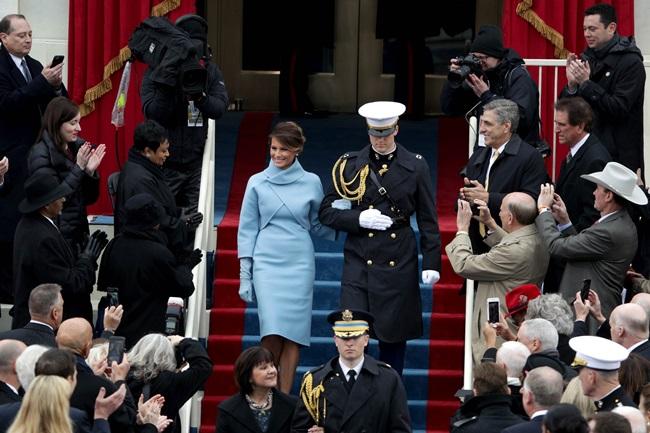 เมลาเนีย ทรัมป์ ภริยาประธานาธิบดีสหรัฐอเมริกา