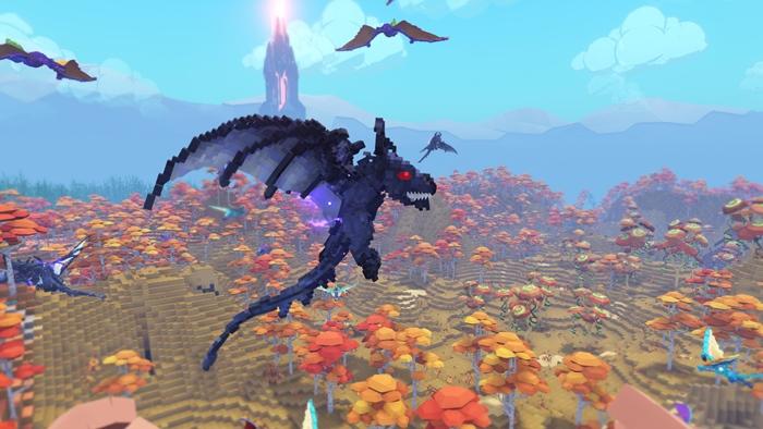 """เปิดตัว """"PixArk"""" เกมขี่อสูรภาคแยก ในแบบ Minecraft"""