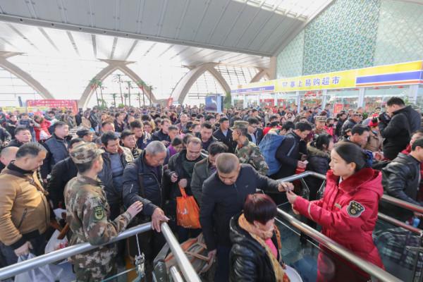 เคลื่อนทัพแล้ว! มหายาตราแห่งเทศกาลตรุษจีนปีนี้คาดคนเดินทางในจีน กว่า 2,980 ล้านเที่ยว (ชมภาพ)