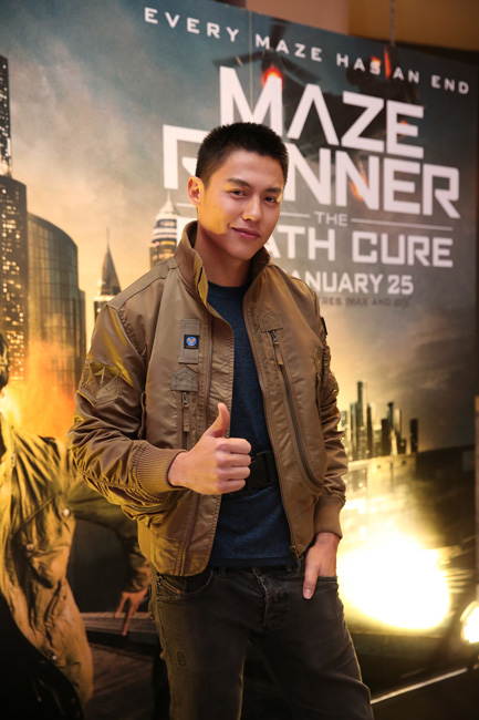 """""""หมาก ปริญ"""" ร่วมการันตีหนังฟอร์มยักษ์ สนุกครบทุกความมันส์ ในงานเปิดตัว """"Maze Runner : The Death Cure Thailand Premiere"""""""