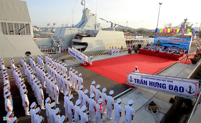 ภาพชุด -- เวียดนามบรรจุเรือรบใหม่ 2 ลำ เป็นเรือฟริเกตรุ่นรัสเซียยิงถล่ม ISIS ในซีเรีย