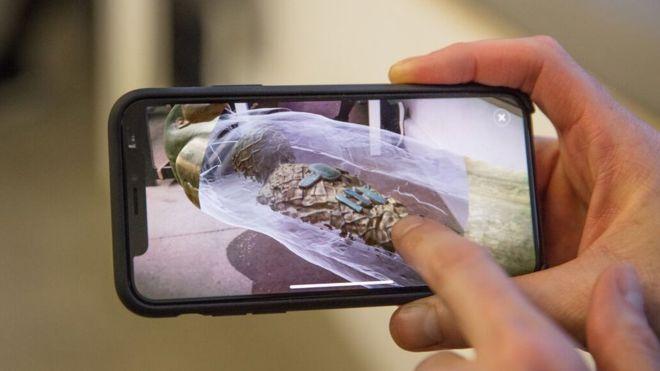 บีบีซี เปิดตัวแอปพลิเคชัน AR ตัวแรก ชมมัมมี่ผ่านโลงโบราณ