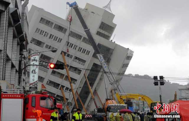 ไต้หวัน รับความช่วยเหลือกู้แผ่นดินไหวจากญี่ปุ่น ปฏิเสธความช่วยเหลือจากจีน