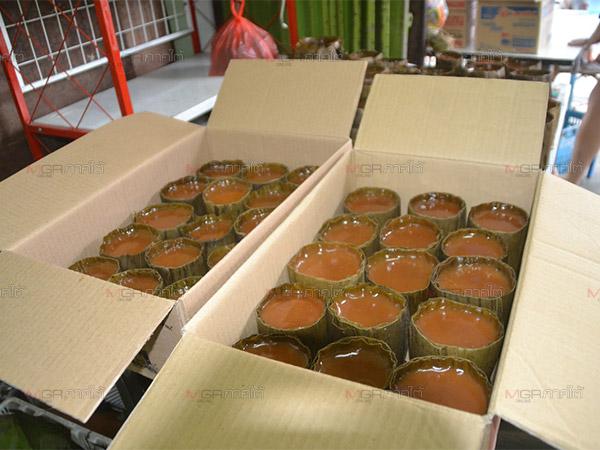 ร้านขนมเข่งในเบตงเร่งผลิตตามออเดอร์จากไทยและมาเลย์