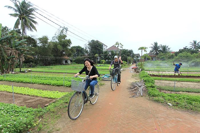 นักท่องเที่ยวนิยมมาปั่นจักรยานสัมผัสวิถีชาวบ้านที่ชทรา เว้