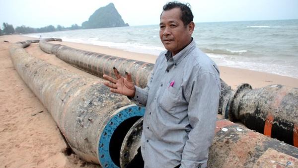 สภาอุตฯชุมพรจี้หน่วยงานรัฐตรวจสอบท่อน้ำมันยักษ์ หวั่นเป็นอันตรายต่อการเดินเรือ