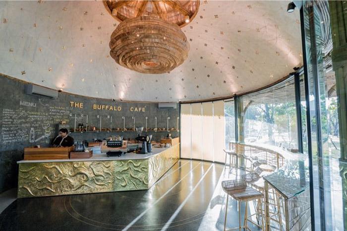ภายใน The Buffalo Café