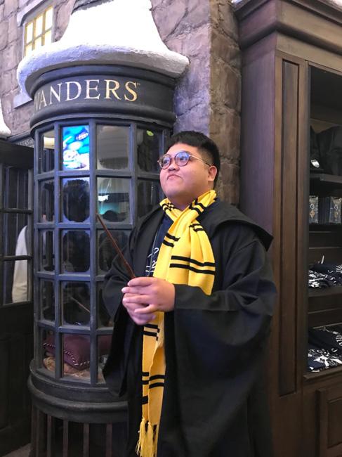 """โค้งสุดท้าย!! """"Harry Potter Christmas in the Wizarding World"""""""