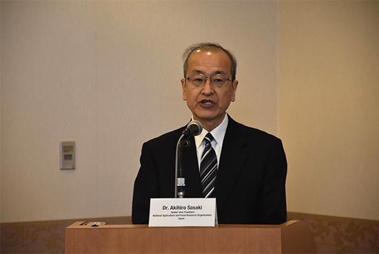 Dr. Akihiro Sasaki รองประธานที่ปรึกษาอาวุโส NARO