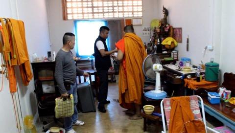จับสึกพระลูกวัดเมืองราชบุรี ลักเงินทำบุญซื้อยาบ้าเสพ