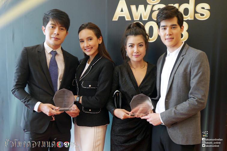 """""""ชั่วโมงต้องมนต์""""คว้า2รางวัล งาน""""Thailand Digital Awards 2018"""""""