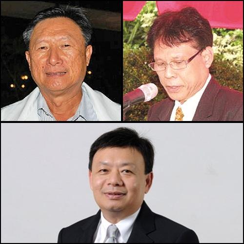 โฉมหน้า 7 อดีตว่าที่ กกต. (บนซ้าย) นายประชา เตรัตน์ อดีตรองปลัดกระทรวงมหาดไทย (บนขวา) นายปกรณ์ มหรรณพ ผู้พิพากษาศาลฎีกา (ล่าง) นายฐากร ตัณฑสิทธิ์ เลขาธิการ กสทช.