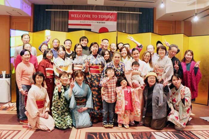 ความสุขและรอยยิ้มที่ได้รับจากการต้อนรับอย่างดีจากโรงแรม Rich & Garden Sakata