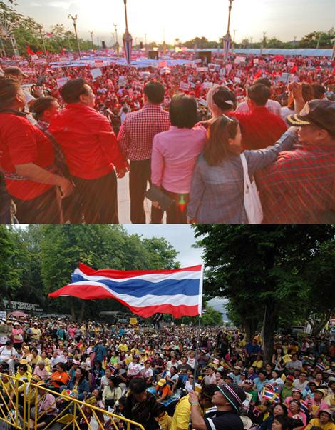 ความแตกแยกในสังคมไทย สองขั้วความคิดที่ยังพอมีจุดร่วม