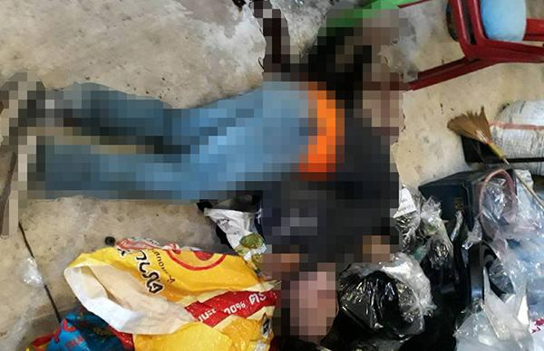 เซ่นรักไม่ลงตัว! หนุ่มใหญ่ชักปืนยิงแม่ม่ายดับสยอง ก่อนระเบิดสมองตายตาม เมียโผกอดร่างไร้วิญญาณ
