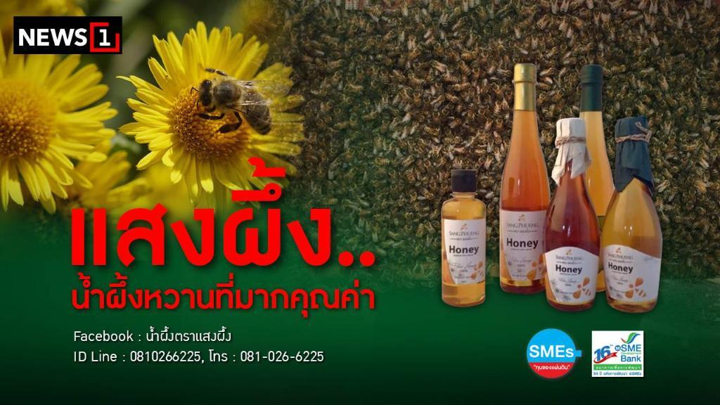 แสงผึ้ง..น้ำผึ้งหวานเดือนห้าจากดอกลำไย (ชมคลิป)