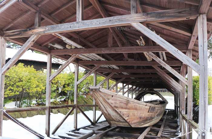 เรือสมัยโบราณที่ใช้ขนส่งสินค้า