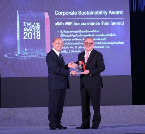 25 องค์กรธุรกิจไทยคว้ารางวัล Thailand Top Company Awards 2018