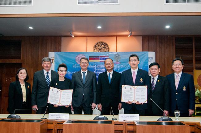 พระนครเหนือ จับมือ จุฬาฯ เปิดหลักสูตรปริญญาโทร่วม 2 สถาบัน สาขาวิศวกรรมระบบรางและโครงสร้างพื้นฐาน ครั้งแรกในไทย