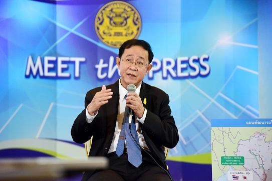 """""""อาคม"""" โชว์แผนลงทุนโครงสร้างพื้นฐานคมนาคมครั้งใหญ่ ช่วยยกระดับคุณภาพชีวิตคนไทย"""