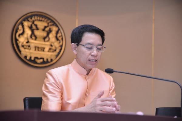 พล.ท.สรรเสริญ แก้วกำเนิด โฆษกประจำสำนักนายกรัฐมนตรี (ภาพจากแฟ้ม)