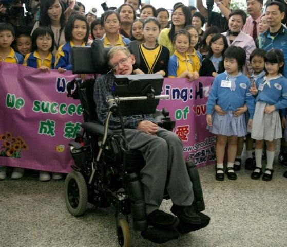 """ชาวจีนหลายล้านเปรียบการจากไปของ """"สตีเฟน ฮอว์คิง"""" เหมือน """"การดับของดาวฤกษ์"""""""