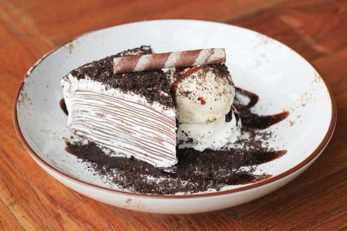 ช็อกโกแลตเครปเค้ก