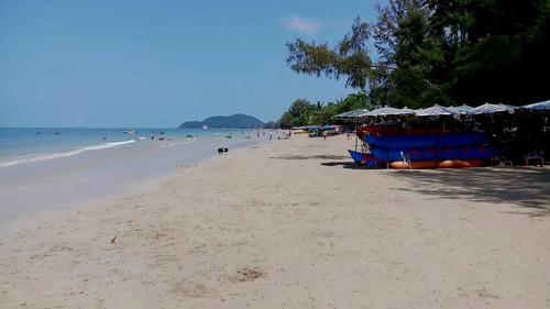 สะอาดแล้ว!!! ชายหาดเจ้าหลาว-แหลมเสด็จ จ.จันทบุรี ไร้เงาขยะ ทำนักท่องเที่ยวแฮปปี้
