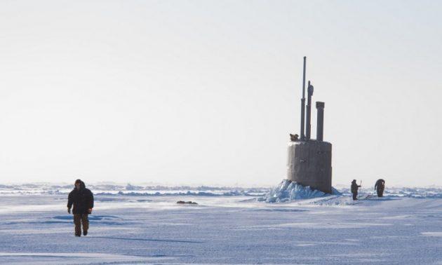 'เรือดำน้ำรัสเซีย'แอบตามข้าศึกใต้ทะเลในแถบอาร์ตติกตั้งหลายวันโดยไม่ถูกตรวจพบ
