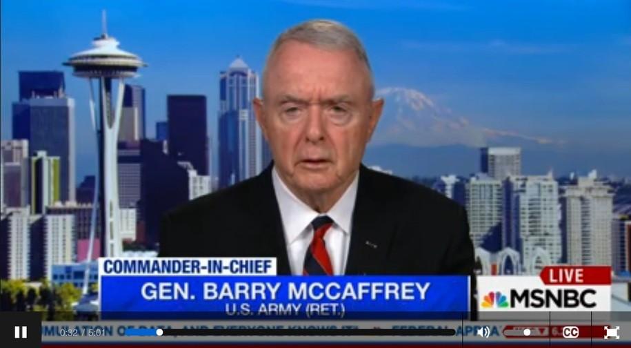 อดีตนายพลสี่ดาวอเมริกันระบุชัดๆ ทรัมป์คือ 'ภัยคุกคามร้ายแรงต่อความมั่นคงแห่งชาติของสหรัฐฯ'