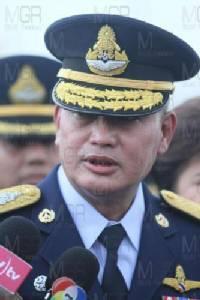 พล.อ.อ.จอม รุ่งสว่าง ผู้บัญชาการทหารอากาศ (แฟ้มภาพ)