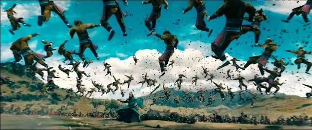 """(ชมคลิป) ตัวอย่างภาพยนตร์ """"สามก๊ก"""" เวอร์ชันดัดแปลงจากเกม """"สามก๊กมุโซว"""""""
