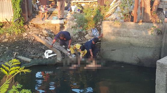 หนุ่มพม่าช็อตปลาพลาดถูกไฟดูดเสียชีวิตริมคลองบางรักน้อย