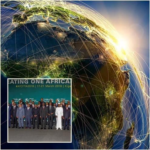 "In Clip : 44 ชาติแอฟริกัน ลงนามสร้างเขตการค้าเสรีครั้งใหญ่ทั่วทวีปแอฟริกา แต่ ""ไนจีเรีย"" ขอไม่ร่วม"