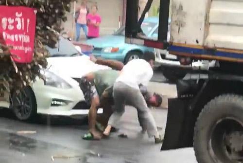 ภาพเหตุการณ์ จากคลิปวิดีโอ